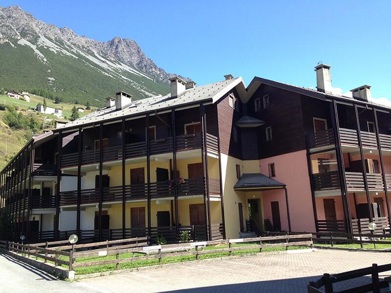 A75 Affitto Appartamento in condominio Capitel ad Isolaccia