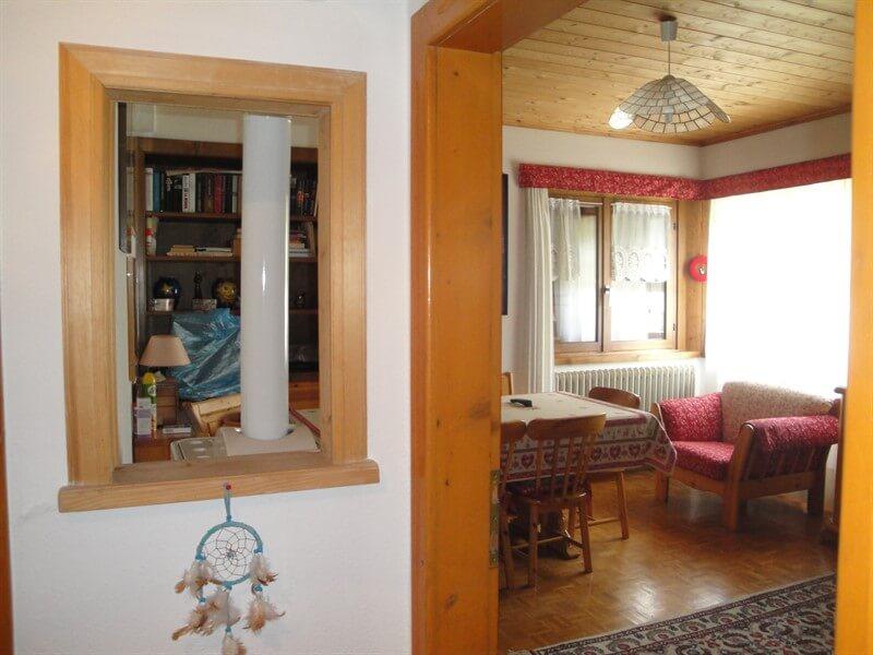 Casa indipendente in vendita tra Bormio e Livigno - particolari soggiorno