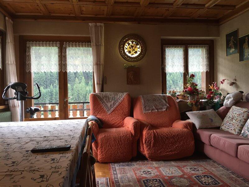 Casa indipendente in vendita tra Bormio e Livigno - soggiorno