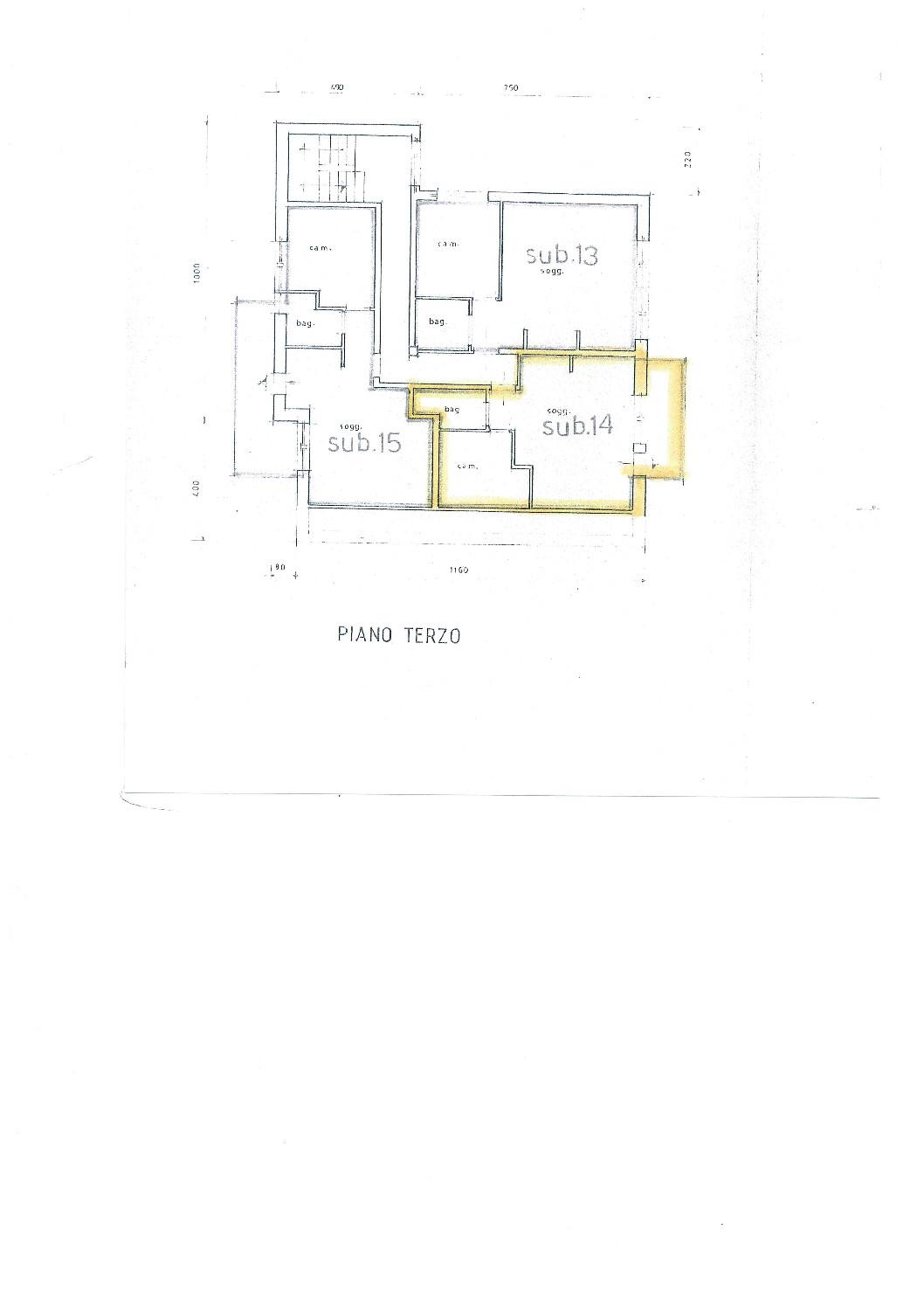 Immobiliare Abita planimetria appartamento