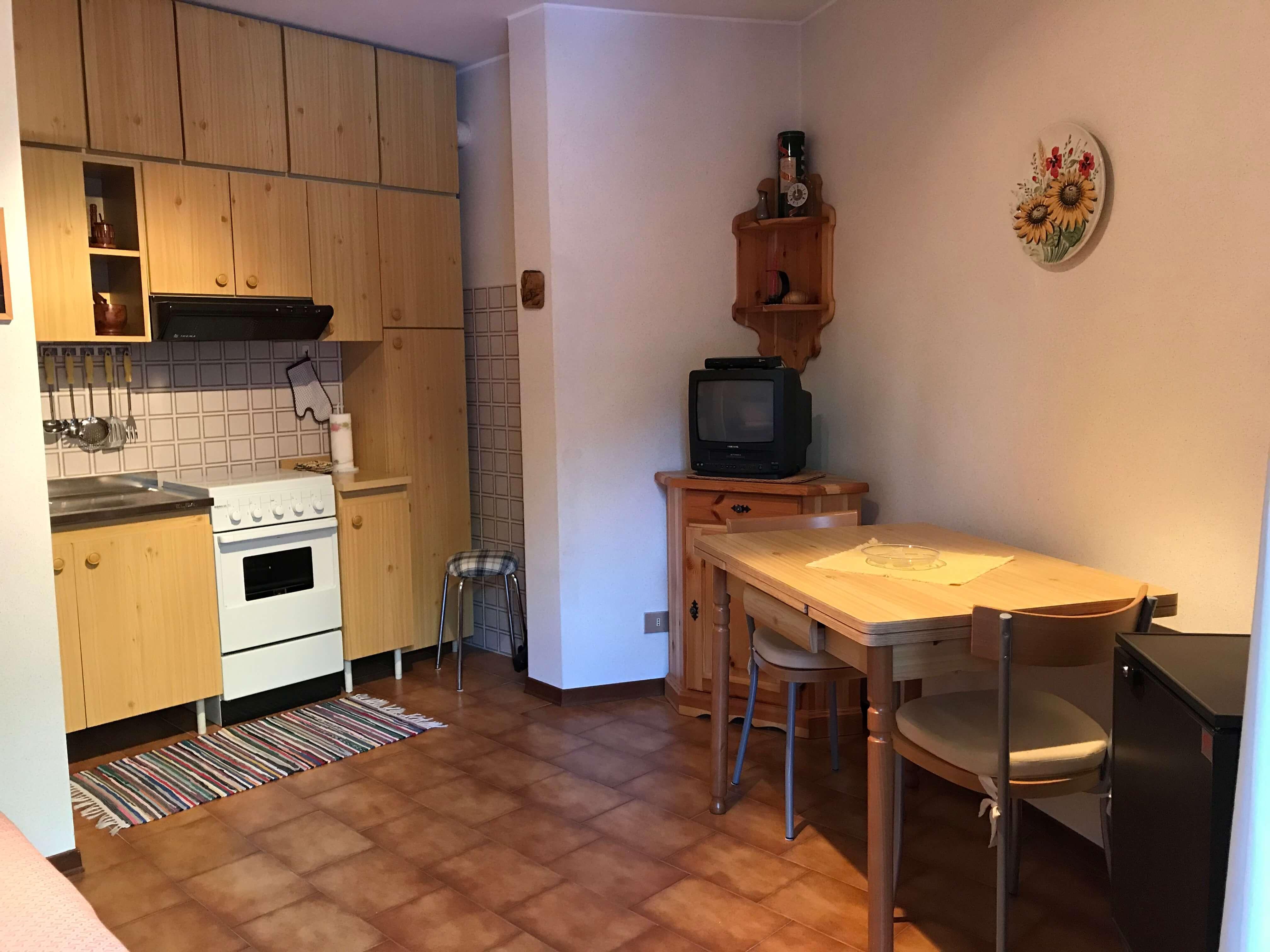 Immobiliare Abita condominio Capitel - monolocale in vendita angolo cottura-pranzo