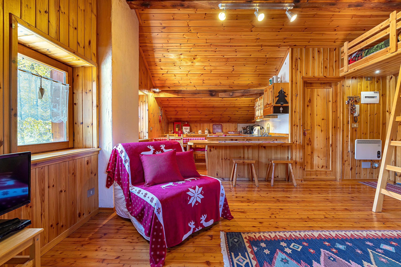 Immobiliare Abita - mansarda in vendita - soggiorno angolo cottura